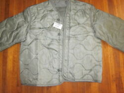 NEW W TAG Military Coat Liner M65 Foliage Green Cold Weather Field Jacket Liner $16.95