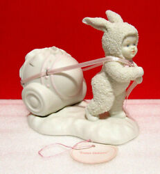 As Is Snowbunnies Dept. 56 Snowbabies Special Delivery Figurine As Is