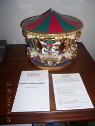 MR. CHRISTMAS Special Edition Musical Merry Go Round 1996 Estate Find