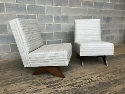 pierre Jeanneret easy Low Chair. New Reproduction, Can Be Customized.