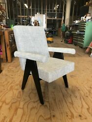 pierre Jeanneret Committee Chair. New Reproduction, Made To Order