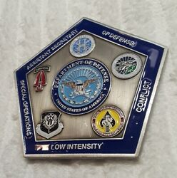 Authentic Jsotf Joint Special Operations Defense Secretary Rare Challenge Coin