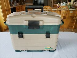 Vintage Flambeau Tackle Box Vintage Lures Tuff Trainers And Dividers And More