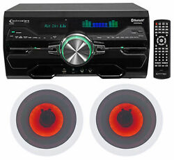 Technical Pro Dv4000 4000w Home Theater Dvd Receiver+6.5 Led Ceiling Speakers