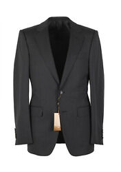 New Gray Suit Size 44 / 34r U.s. Wool