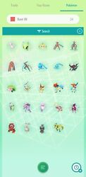 Pokemon Home Complete set of Gen 1 7 Mythical 24 Pokemon