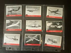 1956 Topps Jets Complete Nm - Mint Set With Untouched Photo Album - Rare Find