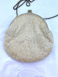 Clutch Collection 4 pcs Small Handbags EUC amp; NWT Ivory Beaded Crossbody 3 More $40.00