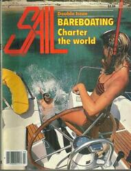 Sail Magazine March 1986 Bareboting, Charter The World Cover, Whitbread Race