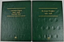 Littleton Buffalo Nickels 1913-1938 Lincoln Cents Vol. 2 1930-1958 Coin Albums
