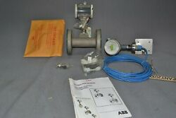 2 Abb Trio-wirl Vr4312150r23a2ec0ab A351 Flow Meter Complete Kit Nos
