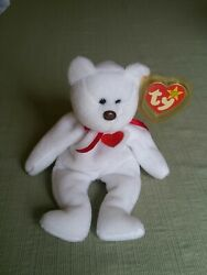 Rare Valentino Beanie Baby W/ Multiple Errors Please Look At Pictures