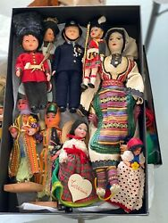 Vintage Ethnic Dolls Collection 1959-1967 European, Borth African High Quality