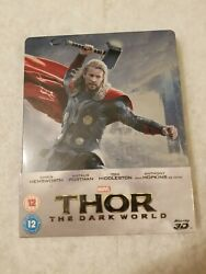 Thor The Dark World Steelbook Blu Ray Uk Sold Out Limited Edition Sealed Marvel