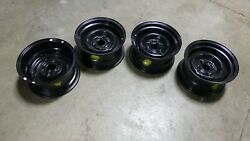 1971 Mustang Torino Cougar Factory 14x7 Steel Wheels Om Dated