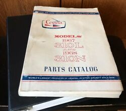Cessna 310l And 310n Parts Catalog And Service Manual