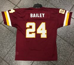 18-20 Youth New Nwt Deadstock Vintage Washington Redskins Champ Bailey Jersey