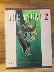 Incal 2 And 3 Epic Graphic Moebius And Jodorowsky 1988 Oop + Single + Metabarons