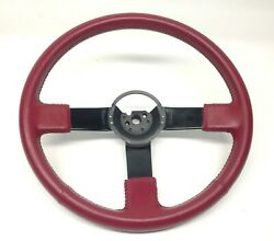 Buick 3 Bar Sport Leather Steering Wheel Gm Part 25507580 Regal Grand National