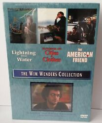 The Wim Wenders Collection Dvd 2004 3-disc Set Oop Rare Out Of Print Sealed