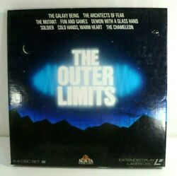 The Outer Limit 4-laserdisc Ld Volume 1 Boxed Set 7 Hours Extended Play