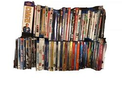 67 Assorted Blu Ray/dvd/disney/tv/slip Covers/box Sets/steel Covers Lot