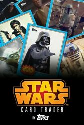 Topps Star Wars Card Trader 5th Anniversary Set White Red Orange Sets 72 Cards