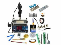 Rework Station Soldering Irons Preheating Stations Solder Microcomputer Tool New