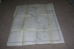 1890 Railroad/railway Map U.s. Central And South America Mexico