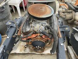 Late 1965 Chevy 327 Engine Date Code L275 Head 3782461