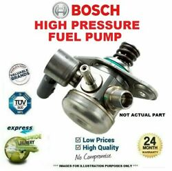 Bosch High Pressure Fuel Pump For Seat Exeo 2.0 Tdi 2009-on