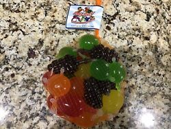 Famous Dely Gely Fruit Jelly Fruit Tik Tok Gelly Candy 25 Unit Pack Sample