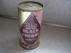 Pabst Black Cherry Soda Pabst Brewing Co Milwaukee Wis 10 Oz Flat Top Can Wi
