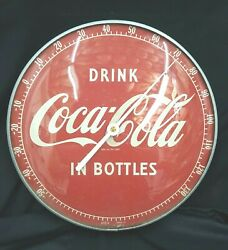 Vintage Coca Cola Drink Coca Cola In A Bottle Wall Thermometer