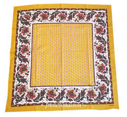 Souleiado French Country Provence Cotton Scarf Floral Provencal France New Gift