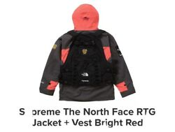 Supreme / The Rtg Jacket + Vest - Bright Red - Size M. In Hand