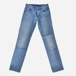 Levi's Made & Crafted Light Blue Jeans Distressed Patchwork Patched 29x34