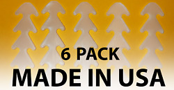 Six (6) Pack Face Mask Strap Extension Adjustable Ear Saver Hook  (LOWER PRICE)