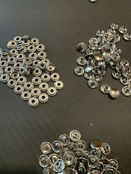 Stainless Steel Snap Fasteners Fasnap 340 Caps And 340 Sockets Marine Grade