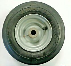 Brand New Pair Smooth 11x4.00-5nhs Tires W/ Greaser Rim