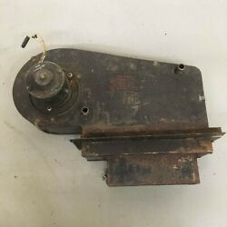 Original Mg Mgb Smiths Heater Box With Motor Fan And Core Early Model Oem