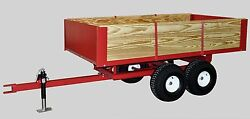 Compact And Subcompact Tractor Trailer 2-ton Lawn Garden 8500 Made In The Usa