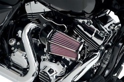 Performance Machine Black Tbw Fast Air Filter Cleaner Kit 08-17 Harley Touring