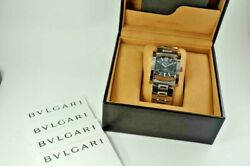Bulgari Assioma Aa44s Stainless Steel W/ Box And Books Excellent Dates 2010