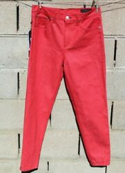 Rag And Bone Jeans Pants Size 29 Small Medium Red Black Bottoms Christmas Offer Nw