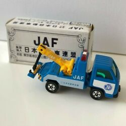 Rare Tomica Mini Car Jaf Tow Track Retro Vintage Toy Free Shipping From Japan