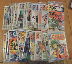 Conan The Barbarian 139-185 Annual 7-10 Complete Canadian Newsstand Variants
