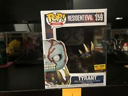 Funko Pop Games Resident Evil 20th Anniversary Tyrant 6 Inch Hot Topic 159