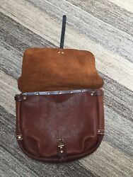 HANDMADE LEATHER - U.S. MAIL Postal Leather Carrier Messenger Bag Design - NEW $995.00