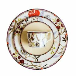 Tableware Dishes Dinnerware Plate Set Ceramic Cup And Saucer Floral Designed New